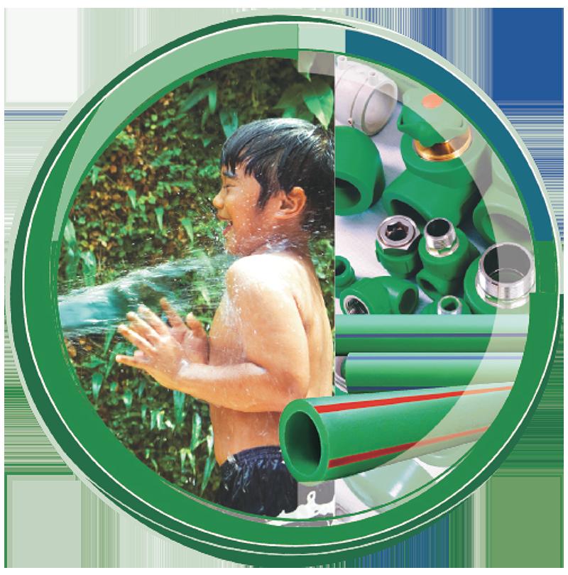 Pipa-PPR-Wavin-Tigris-Green