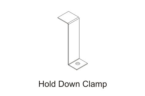 Hold-Down-Clamp
