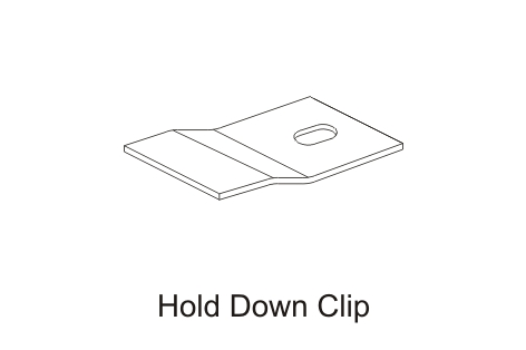 Hold-Down-Clip